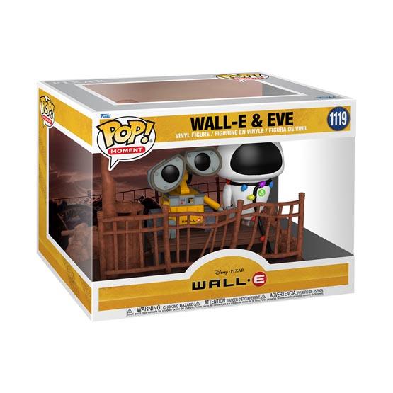 #1119 - Wall E - Wall E and Eve | Popito.fr