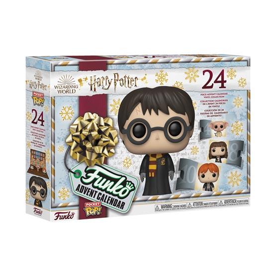 Pocket Pop! - Calendrier de l'Avent Harry Potter (24 pièces) (2021) | Popito.fr