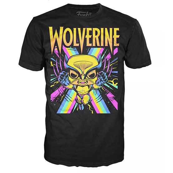 Box - T-shirt - #802 - Wolverine (black light) | Popito.fr