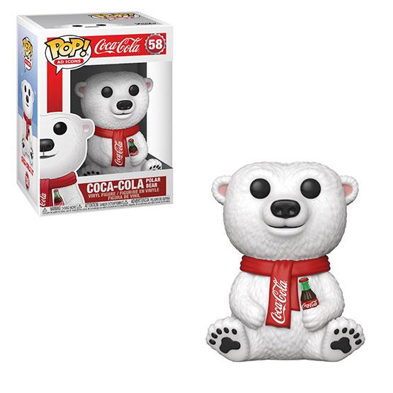 #058 - Coca Cola - Coca Cola Polar Bear   Popito.fr