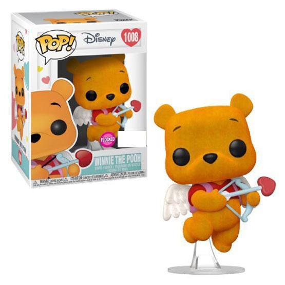 #1008 - Winnie the Pooh (Valentine) (flocked) | Popito.fr