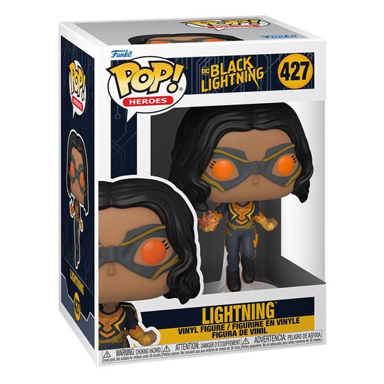 #427 - Black Lightning - Lightning   Popito.fr
