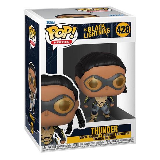 #428 - Black Lightning - Thunder   Popito.fr
