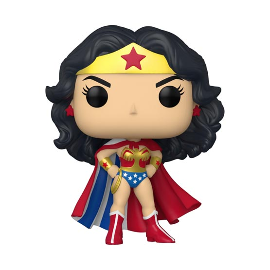 #433 - Wonder Woman 80th anniversary - Wonder Woman (classic with cape)   Popito.fr