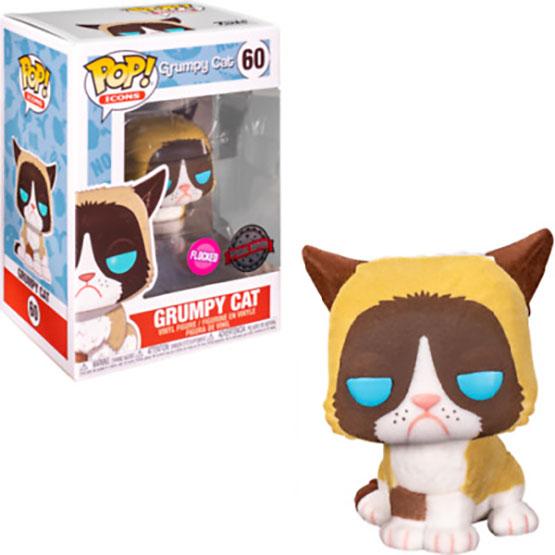 #060 - Grumpy Cat (flocked) | Popito.fr