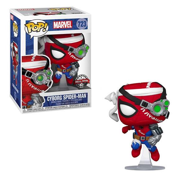 #723 - Cyborg Spider Man | Popito.fr